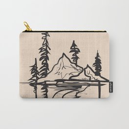 Abstract Landscpe Carry-All Pouch