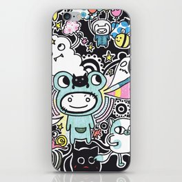 Adventure Remix iPhone Skin