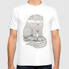 froggle, doggle and poggle White Mens Fitted Tee MEDIUM