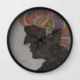 Rainbow Man Wall Clock