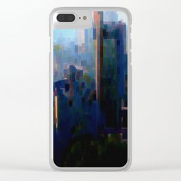 Little Look at Hamburg Clear iPhone Case