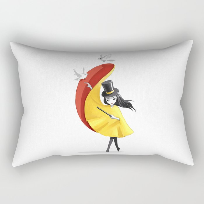 Magician 2 Rectangular Pillow