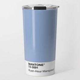 MANTONE® Rush-Hour Manspread Travel Mug