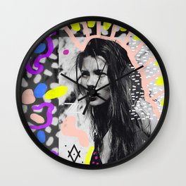 Kate Moss Tribal Far East Wall Clock