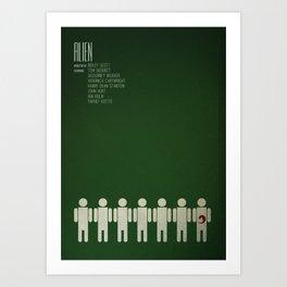 Alien - 8th passenger Art Print