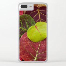 Florida Fall Clear iPhone Case