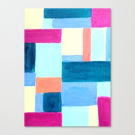 Squares and Rectangles Canvas Print