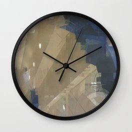 From A Heart Like Glass Wall Clock