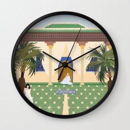 Moroccan Days Wall Clock