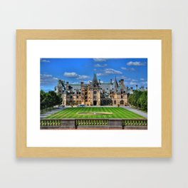 Biltmore Mansion Estate Asheville North Carolina Framed Art Print