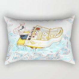 Melody Of The Sky Rectangular Pillow