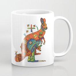Kangaroo, cool wall art for kids and adults alike Coffee Mug