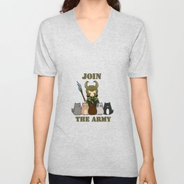 Cat Army Unisex V-Neck