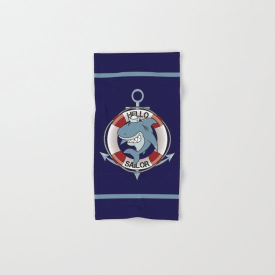 Hello sailor! Hand & Bath Towel