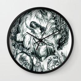 Genetic Pilgrimage Of Beauty Wall Clock