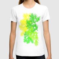 fern T-shirts featuring Fern by Sreetama Ray