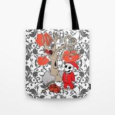 SANTA'S RED BIRD Tote Bag