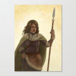 Haleth the Hunter Canvas Print