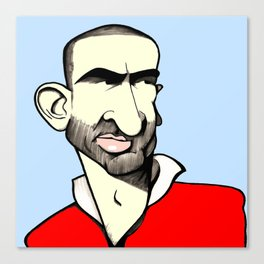 Cantona colour Canvas Print