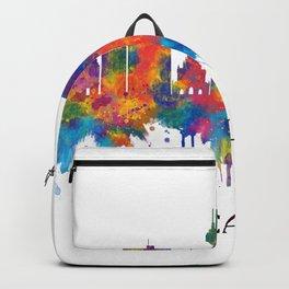 Cali Colombia Skyline Backpack