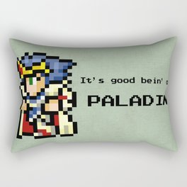 It's Good Bein' A Paladin Rectangular Pillow