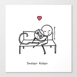 Smitten Kitten Canvas Print