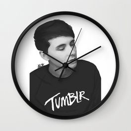 Dan Howell Wall Clock