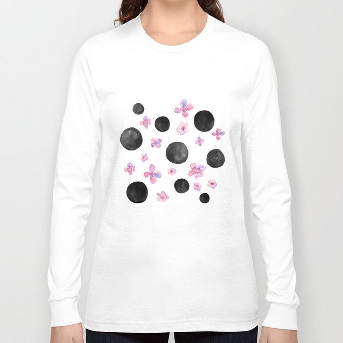 Flora dots Long Sleeve T-shirt