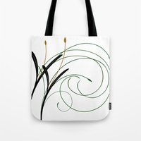 grass Tote Bags featuring Grass by DistinctyDesign