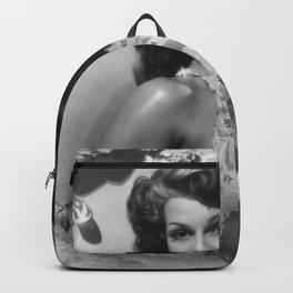 Rita Hayworth, Hollywood Starlet black and white photograph / black and white photography Backpack