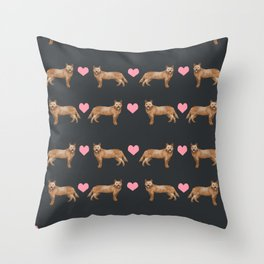 Australian Cattle dog must have gifts for cattle dog owners dog breed pet friendly unique dog art Throw Pillow