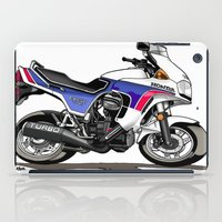 honda iPad Cases featuring 1983 Honda CX650TD Turbo by Saddle Bums