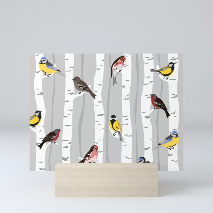 birchwood Mini Art Print