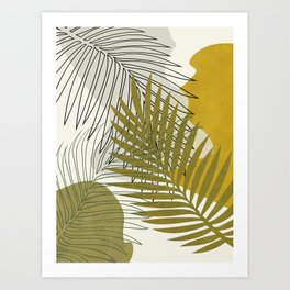 bungle jungle 3 boho Art Print