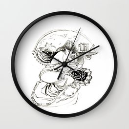 KT HOLLYWOOD Wall Clock