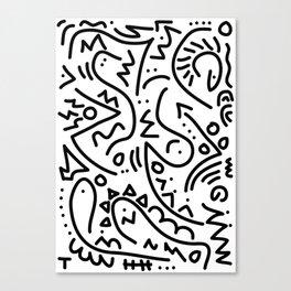 It's a beautiful world Canvas Print