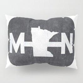 Minnesota Logo MN Pillow Sham