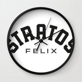 STRATOSFELIX Wall Clock