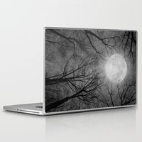 tolkien Laptop & iPad Skins featuring May It Be A Light (Dark Forest Moon) by soaring anchor designs