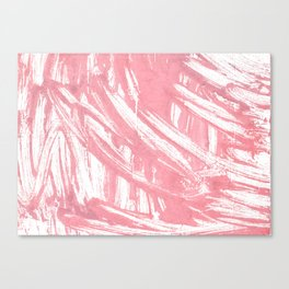 Mauvelous abstract watercolor Canvas Print