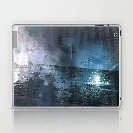 Taking the Evening Train Through Winter Words Laptop & iPad Skin