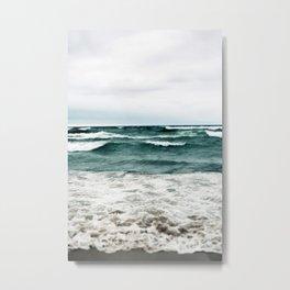 Turquoise Sea #1 Metal Print