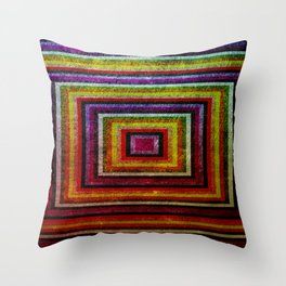 Grunge Throw Pillow