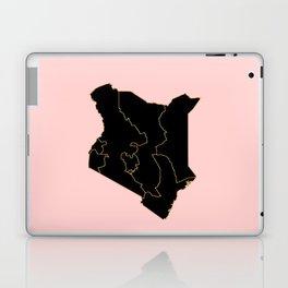 Kenya map Laptop & iPad Skin