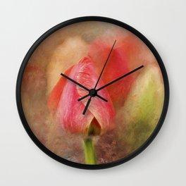Spring Tulip ImpressionII Wall Clock