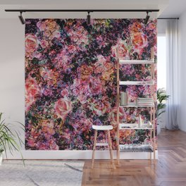 Polychromatic Roses Wall Mural