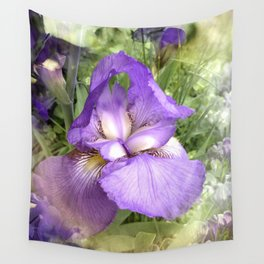 The Dreaming Iris Wall Tapestry