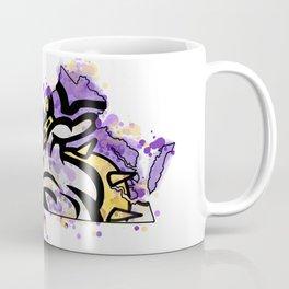 jmu dukes splatter Coffee Mug