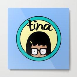 Tina Metal Print