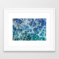 mineral Framed Art Prints featuring MINERAL MAGIC by Catspaws